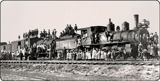 Orphan Trains Next Stop: A Fresh Start